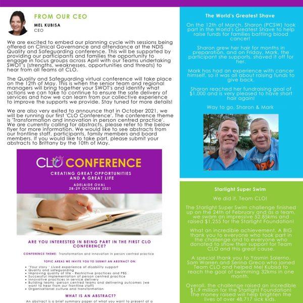 CLO Connect April